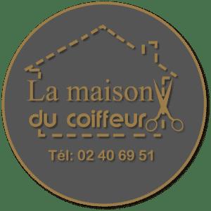 Logo Salon de coiffure la maison du coiffeur